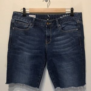 Gap 1969 Always Skinny Denim Cutoff Jean Short 31